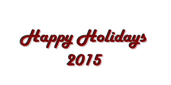 Happy Holidays - 2015